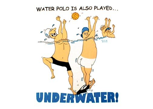 Waterpolo Waterpolopics Underwater